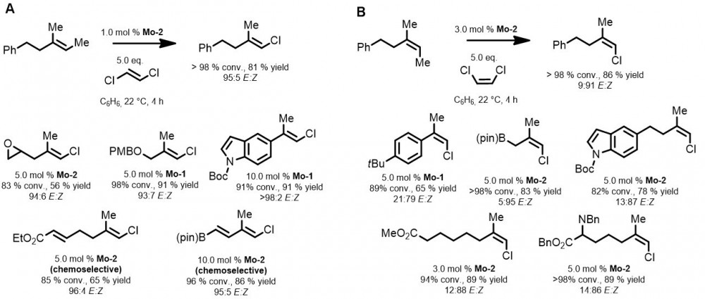 Synthesis Of E And Z Trisubstituted Alkenes Using Chemoselective